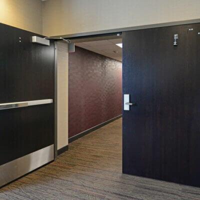 Oversize Doors Installed